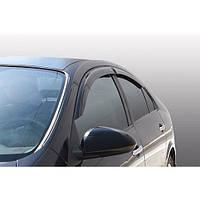 Corsar Дефлекторы окон на NISSAN Primera (P12) '02-07 седан/хэтчбек (накладные)