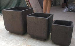 Вазони з бетону марки П500