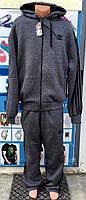 Мужской  зимний спортивный костюм Adidas батал 56р-62р