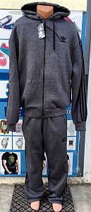 Мужской  зимний спортивный костюм Adidas батал 56р-62р реплика