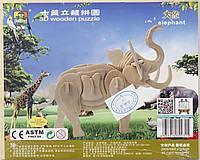 """Детский конструктор из дерева """"Слон"""", фото 1"""
