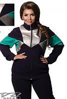 Споривный костюм женский недорого в интернет-магазине Minova ( р. 50-62 )