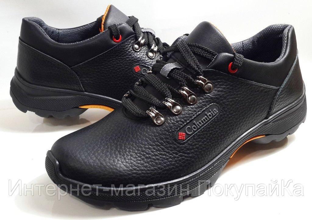 Мужские Осень-Весна Кожаные кроссовки туфли Columbia K-1 Польша 2019 -  Интернет- 8d539fc3ad3