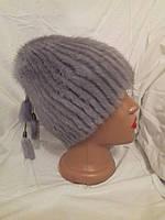 Меховая женская шапка  норка
