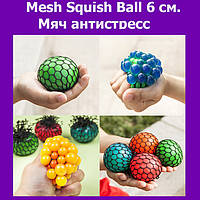 Mesh Squish Ball 6 см. Мяч антистресс!Акция