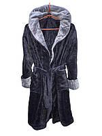 Махровый халат для мальчика с капюшоном 0810/24