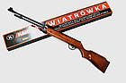 Пневматична гвинтівка Kandar B3-3 Польща + пульки 250шт, фото 4
