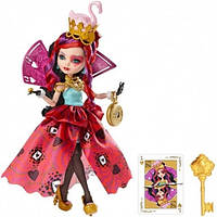 Кукла Ever After High Way Too Wonderland Lizzie Hearts Doll, Лиззи Хартс Дорога в Страну Чудес