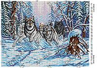 Схема для вышивки бисером   Волчья стая ТМ Dana