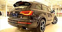 Спойлер крышки багажника стиль ABT Audi Q7 2007-2015 г.в. ABS пластик
