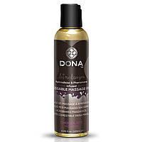 Съедобное массажное масло DONA Kissable Massage Oil Chocolate Mousse, шоколадный мусс, 125 мл.
