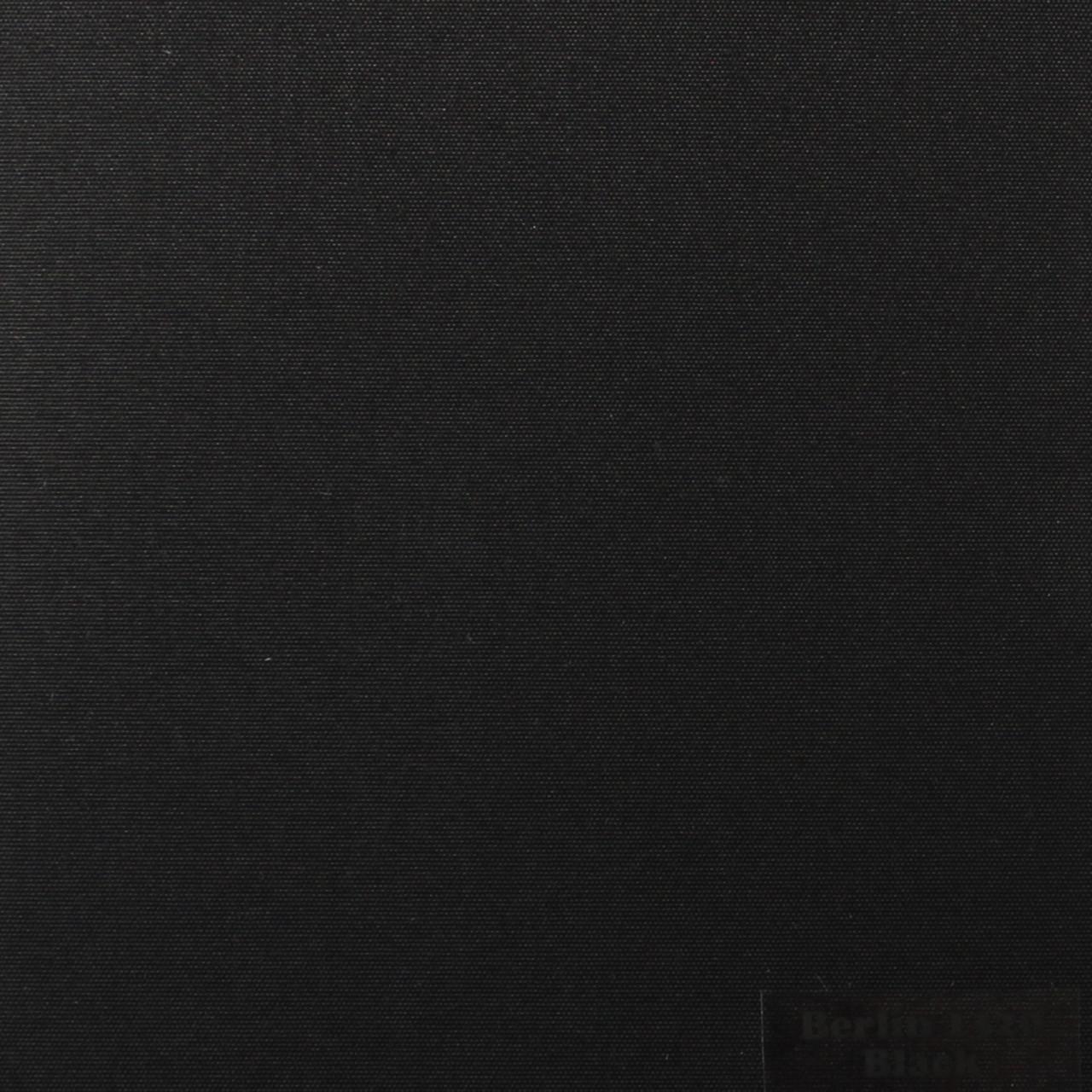 Рулонні штори Тканина Берлін Чорний 1320