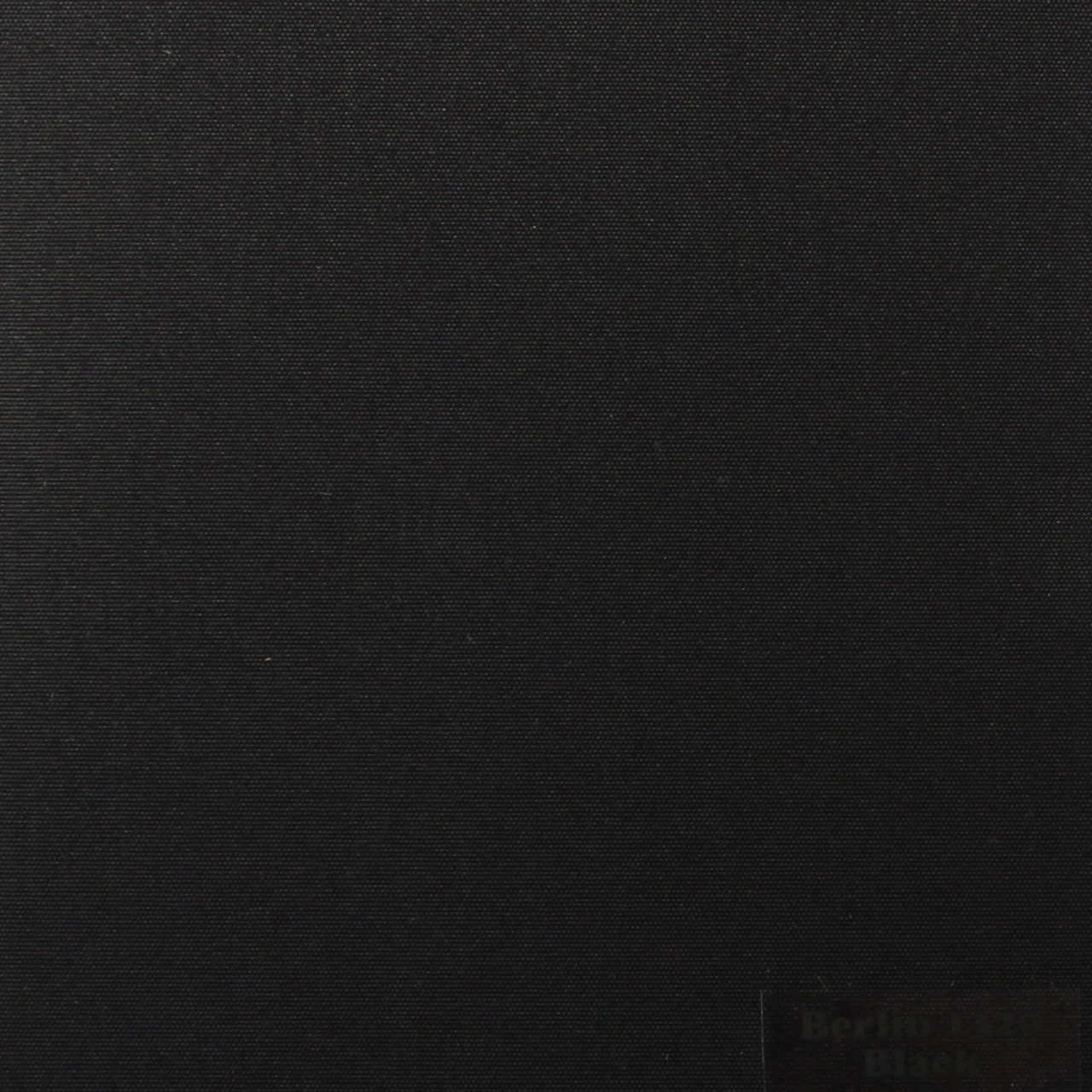 Рулонные шторы Ткань Берлин Чёрный 1320