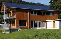 Фасадные системы из термо-дерева