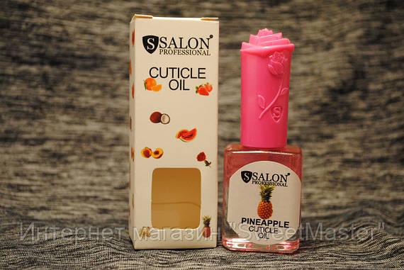 Масло для кутикулы Salon Professional Oil ананас 18ml