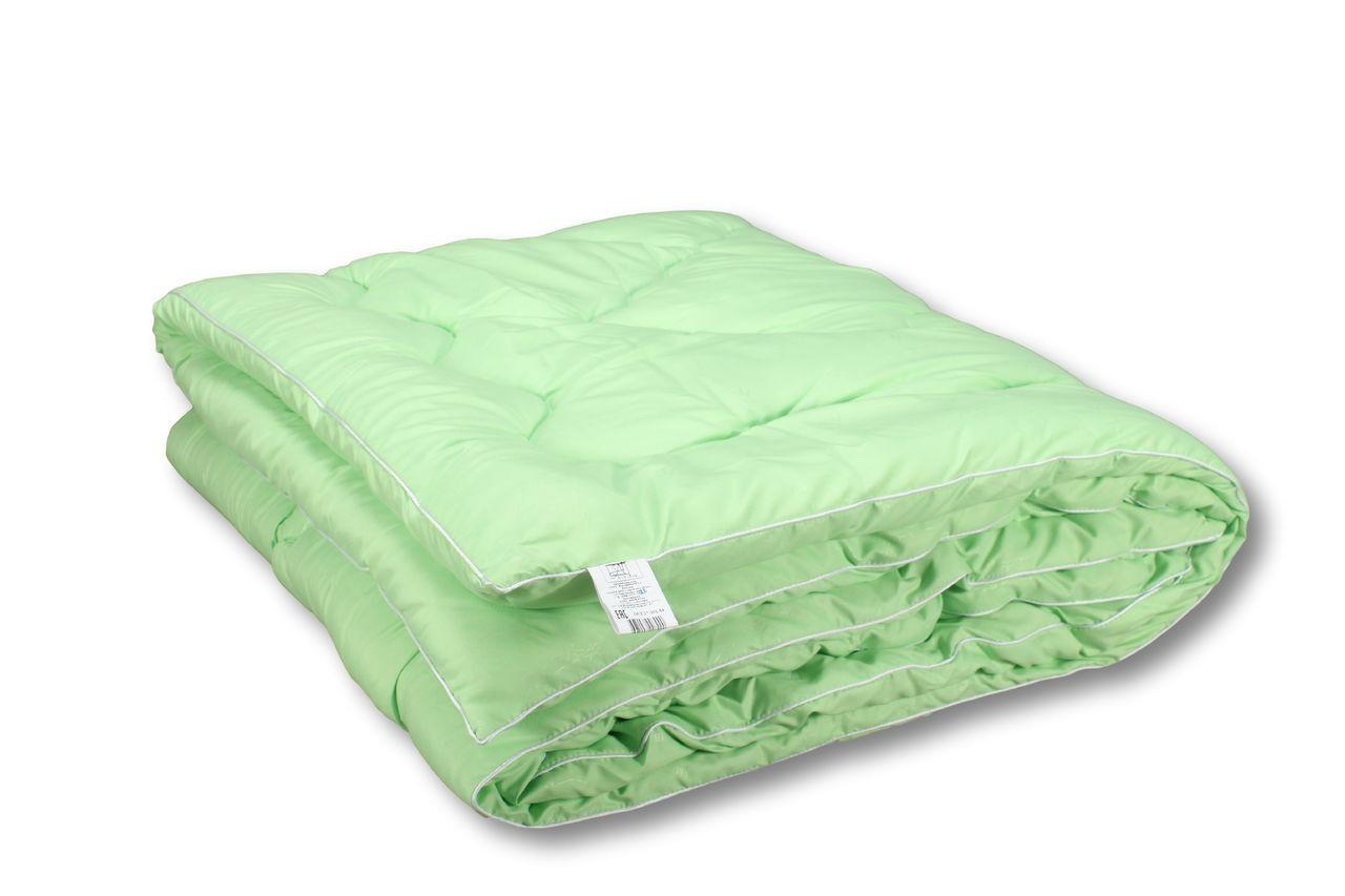 Одеяло закрытое однотонное холлофайбер (Микрофибра) Двуспальное T-44813