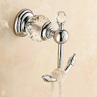 Крючок аксессуар для ванной комнаты для полотенец с кристаллами сваровски декоративный держатель