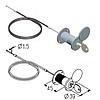 Комплект механизма разблокировки RM0104-4500