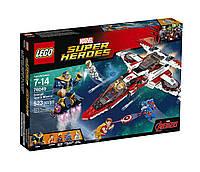 Конструктор LEGO Super Heroes 76049 Спасательная космическая миссия на реактивном самолете Мстителей