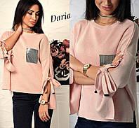 Модный женский свитер юр-1001-3, фото 1