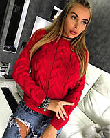 Очень теплый женский свитер