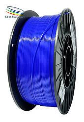 PLA пластик 1 кг, 1.75 мм, синий