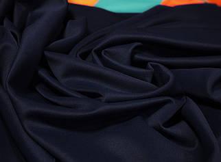 Трикотаж дайвінг темно - синій