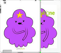 "Чехол на iPad 2/3/4 Принцесса Пупырка. Adventure Time. Lumpy Space Princess v2 ""1221c-25-4074"""