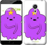 "Чехол на Meizu Pro 5 Принцесса Пупырка. Adventure Time. Lumpy Space Princess v2 ""1221u-108-4074"""