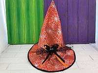 """Шляпа Ведьмы """"Паучек"""", колпак - аксессуар для вашего образа"""