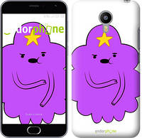 "Чехол на Meizu M2 Принцесса Пупырка. Adventure Time. Lumpy Space Princess v2 ""1221c-185-4074"""