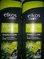 Гель для душа 3в1 Elkos for men, 300 мл