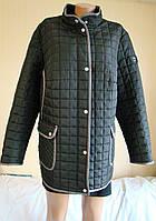 Куртка женская демисезонная CollectionL, Размер 66 (XXXXL, UK 22, EU 48).