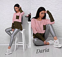 Качественный свободный женский свитер юр-1003-1