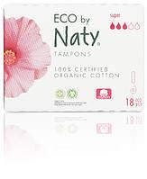 Органические тампоны Eco by Naty Super 18 шт