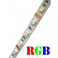 Светодиодная лента smd 5050 МОТОКО  (А-класс) 60led/m,  герметичная IP65, RGB