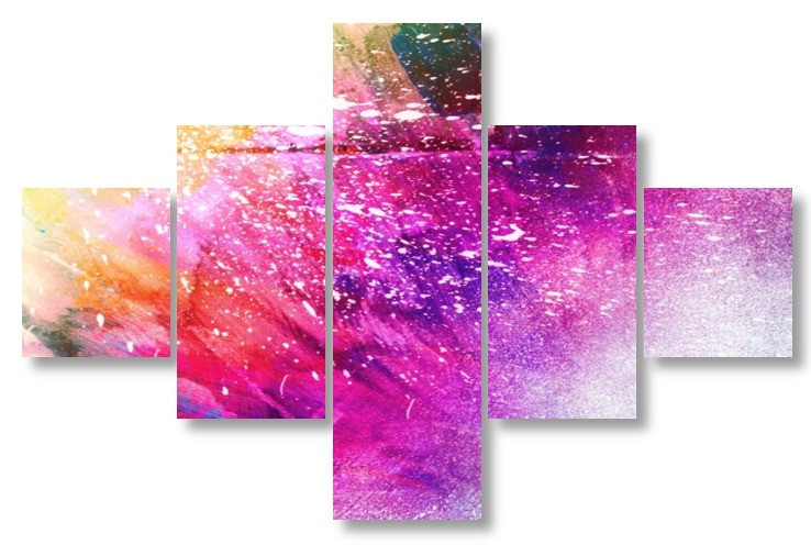 Модульная картина абстракия
