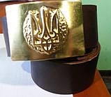 Ремни кожаные с пряжками латунными для подразделений , фото 4