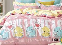 Комплект постельного белья сатин-твил Be My Valentine