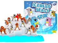 Настольная игра Балансир Айсберг, Пингвины на льдине