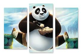 Модульная картина Панда Кунг-Фу