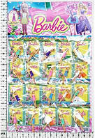 "Кукла маленькая Barbie "" BB1501с аксес, в пакете 20шт.на планшетке 24*15см."