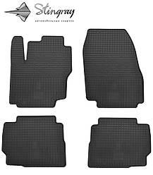 Ford Mondeo 2013- Комплект из 4-х ковриков Черный в салон. Доставка по всей Украине. Оплата при получении