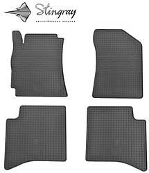 Geely MK Cross 2010- Комплект из 4-х ковриков Черный в салон. Доставка по всей Украине. Оплата при получении
