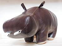 Бегемот интерьерный (коричневый)  , размер m