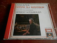 """Anton Bruckner Sinfonie No.4 """"Romantische"""" CD фирменный б/у"""