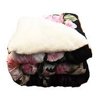 Одеяло полуторное меховое