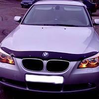 """VipTuning BMW 5 (E60/E61) '03-10 Дефлектор капота """"мухобойка"""""""
