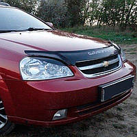 "VipTuning Chevrolet Lacetti '02- седан Дефлектор капота ""мухобойка"""