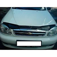 "VipTuning Chevrolet Lanos/Sens '97- Дефлектор капота ""мухобойка"""